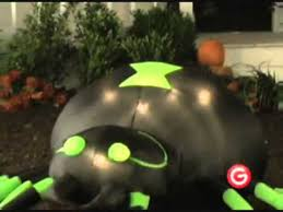 Airblown Inflatable Halloween Yard Decorations by Animated Airblown Spider With Moving Head Inflatable Halloween