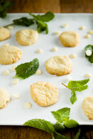 White Chocolate And Fresh Mint Brown Butter Cookies Cupcake Project