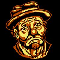 Clown Pumpkin Template by Sad Clown Stoneykins
