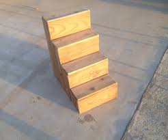 Dog Stairs For Tall Beds by Scrap Wood Dog Stairs 9 Steps With Pictures