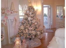 Christmas Pink And Tree Image