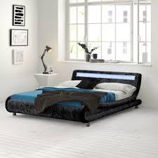 kyara led upholstered bed frame