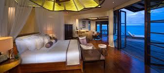 Jumeirah Vittaveli Water Villa With Pool Sunrise Interior