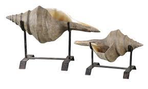 Conch Sculpture Santa Barbara