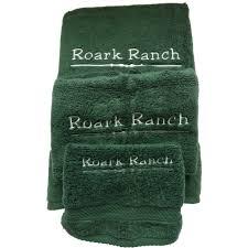 Sunflower Bath Towel Set by Embroidered Monogrammed Wamsutta Bath Towel Sets