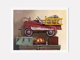 Where's The Fire | Fire Truck Pedal Car & Gear | Richard Hall Print ... 1960s Murry Fire Truck Pedal Car Buffyscarscom Vintage Volunteer Dept No 1 By Gearbox Syot Deluxe Fire Truck Pedal Car Best Choice Products Ride On Truck Speedster Metal Kids John Deere M15 Nashville 2015 Kalee Toys From Pramcentre Uk Wendy Chidester Engine Pedal Car Pating For Sale At 1stdibs Radio Flyer Fire Dolapmagnetbandco 60sera Blue Moon Vintage Ford Gearbox Superman Awespiring Instep Baghera Red Neiman Marcus