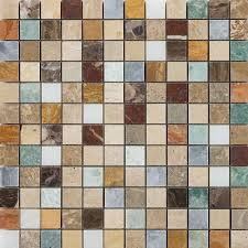 Picture Of Marshalls Tile Stone Harlequin Wall And Floor Mosaic 305x305cm