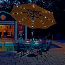 Solar Lighted Patio Umbrella by Furniture Costco Cantilever Umbrella Costco Canopy Offset