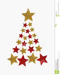 Christmas Tree Stars Stock Illustration Of Celebration