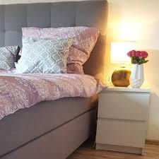 schlafzimmer bedroom rosa grau ikea schlaraffia