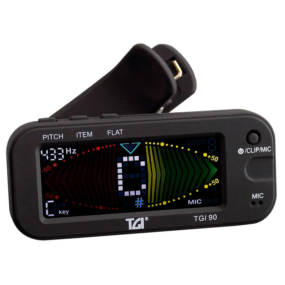 Tgi Tuner Digital Clip On - Black