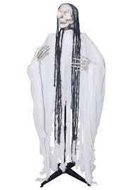 Animatronic Halloween Props Uk by Standing Head Turning White Reaper
