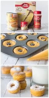 Pumpkin And Cake Mix Dessert by Best 25 Easy Pumpkin Cake Ideas On Pinterest Donut Mix Pumpkin