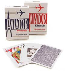 deck pinochle 4 player aviator pinochle cards card