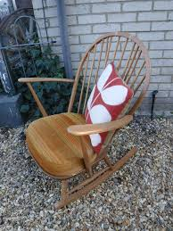 ERCOL BLONDE ROCKING CHAIR - BLUE LABEL | In North Baddesley, Hampshire |  Gumtree