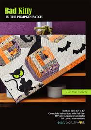 Pumpkin Patch Ct 2015 by Easypatchwork Bad Kitty In The Pumpkin Patch
