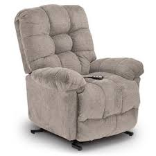 Best Home Furnishings Revere Power Lift Recliner Fog