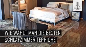 wie wählt die besten schlafzimmer teppiche