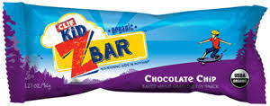 CLIF Kid Zbar Chocolate Chip 18ct Product Shot