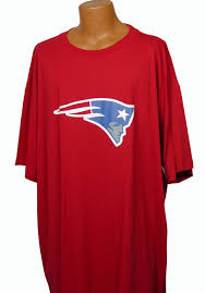 nfl giants patriots red tee 5x 6x big u0026 tall outlet
