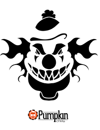 The Joker Pumpkin Stencil by Free Pumpkin Carving Patterns Pumpkin Craze