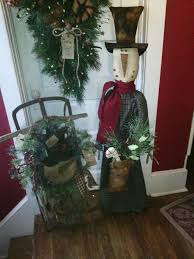 Primitive Decorating Ideas For Christmas by 749 Best Primitive Christmas Images On Pinterest Prim Christmas