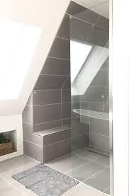 dusche endlich fertig badezimmer dachschräge kleine