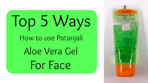 How to Use Patanjali Aloe Vera Gel for Face