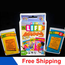 Cards Game Life Adventures Board Funny Family Party Easy To Play With English