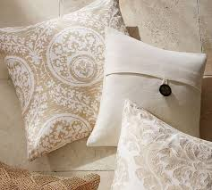 Pottery Barn Decorative Pillow Inserts by Textured Linen Pillow Cover Pottery Barn