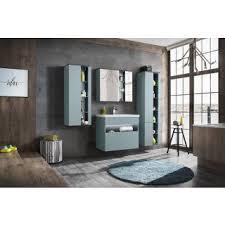 badezimmer hochschrank bahama 170cm mintgrün hochglanz
