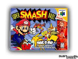 Super Smash Bros. N64 Nintendo 64 Game Case Box Cover Brand New Pro ...