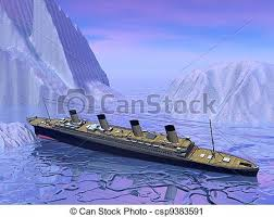 Titanic Sinking Animation 2012 by Stock Illustration Of Titanic Sinking The Rms Titanic Ship Of