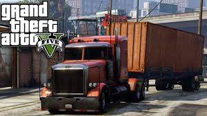 GTA 5 SP #8 - Life Of... A Truck Driver - YouTube
