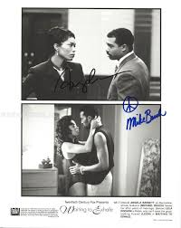 Fire Trapped On The 37th Floor Cast by Waiting To Exhale Cast Photograph Signed With Cosigners