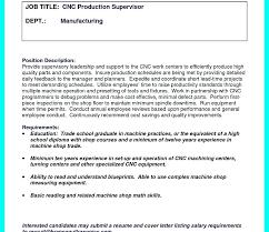 Machinist Resume Objective