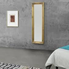 en casa wandspiegel livorno ganzkörperspiegel 132x42cm antik spiegel goldfarben kaufen otto