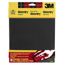 Amazon 3M Wetordry Sandpaper 9 Inch by 11 Inch Assorted