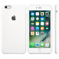 iPhone 6s Silicone Case White Apple