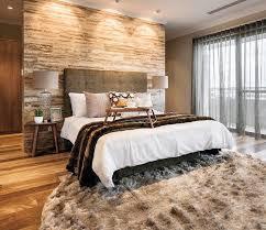 holz schlafzimmer wanddekoration tapetenmuster designböden