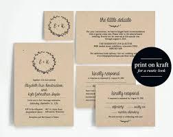 Diy Rustic Wedding Invitations 3258 As Well Invitation Printable Set