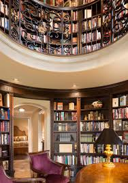 Tuscan-Inspired Home Library Comes Full Circle: A Design ... Monolithic Dome Home Plans Information On Energy Efficient Magical Blue Forest Treehouse Is A Fairytale Castle For Your Circular Garden Lkway Cuts Straight Through Japanese Timber Home Romantic Moroccan Ding Room Design With Wooden Round Table Unique And Compelling Windows Every Horrible Designs Security Doors Installation Fniture Modern House Alongside Oak Wood Double Swing Tuscaninspired Library Comes Full Circle A In Interior More Than Homes Mandala Prefab Energy Star Cliff Living Ideas Shape Best 25 House Plans Ideas Pinterest Cob