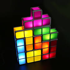 Tetris Stackable Led Desk Lamp Amazon by Light Table Diy Led Best Inspiration For Table Lamp
