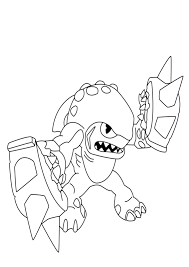 Printable Skylander Pictures Kids Coloring