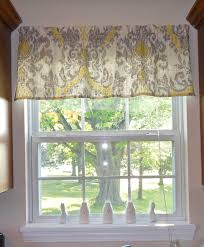 Kitchen Valance Design Ideas Pictures Remodel And Decor See More Guest Grey Yellow Love This Pattern Tute Making It With Danielle