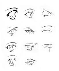 How To Draw Eyes Coloring Page