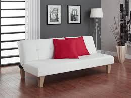 Living Room Chairs Walmart Canada by Dhp Aria White Futon Sofa Bed Walmart Canada