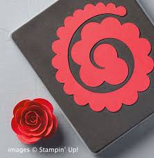 Easy Paper Flowers From Stampin Up