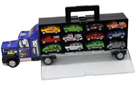 100 Matchbox Car Carrier Truck Amazoncom Thunder Wheels Rier With 12 Die Cast S