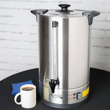110 Cup 3 Gallon Stainless Steel Commercial Electric Coffee Urn